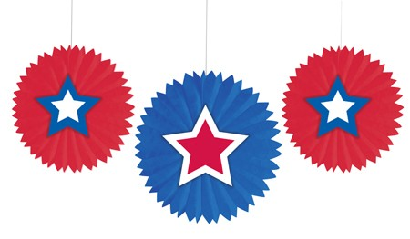 Stars Tissue Fans with Attachment