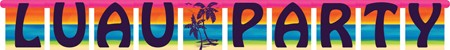 Aloha Summer Large Jointed Banner