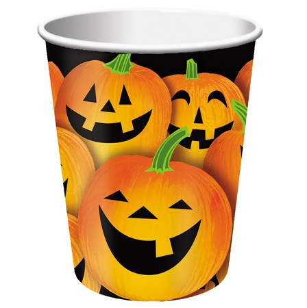 Pumpkin Tricks 9 Oz Hot Cold Cup