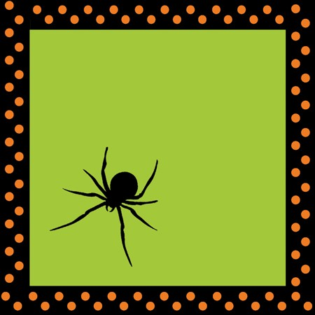 Spooky Spiders 2-Ply Beverage Napkins