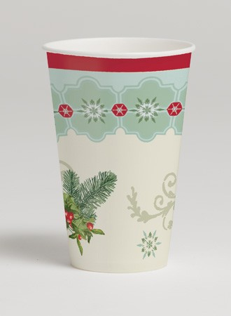 Holly Collage 12 Oz HotCold Cup