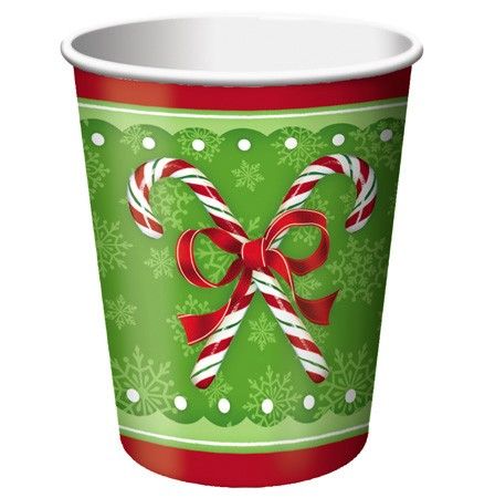 Candy Cane Bliss 9 Oz HotCold Cup
