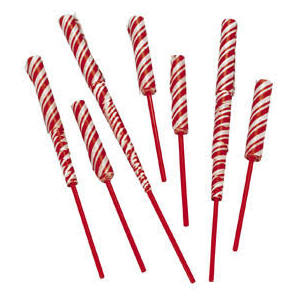 Paper Peppermint Stick Chinese Yo-Yos