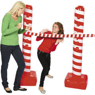 Vinyl Inflatable Candy Cane Limbo Kit