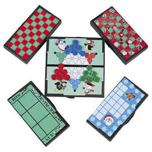 Plastic Holiday Magnetic Travel Games