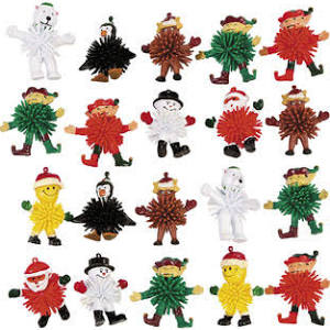 Vinyl Holiday Porcupine Character Assortment