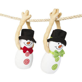 Plush Long Arm Snowmen