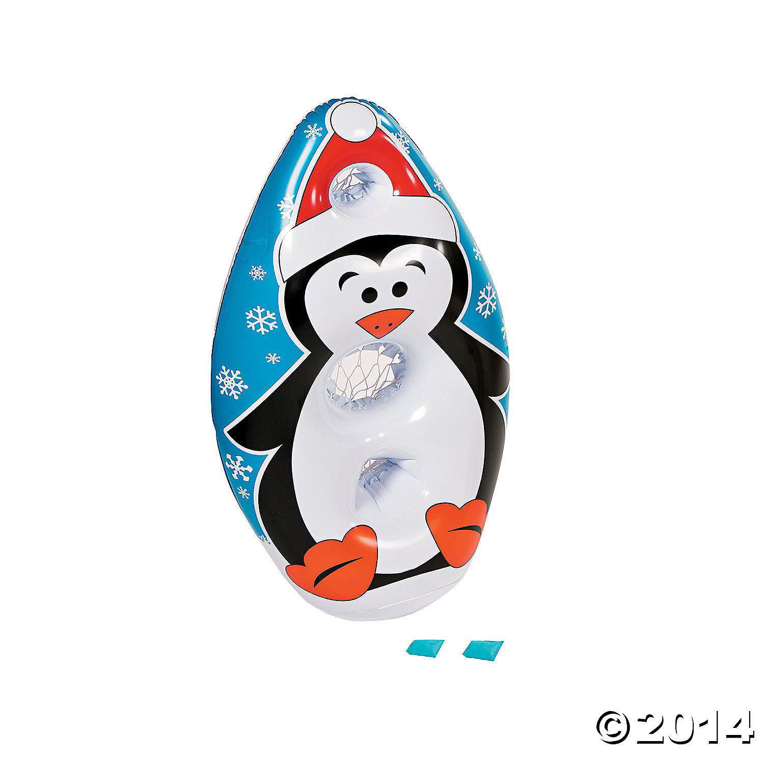 Inflatable Penguin Toss Game