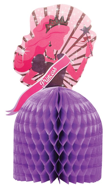Princess Party Shaped Honeycomb Centerpiece
