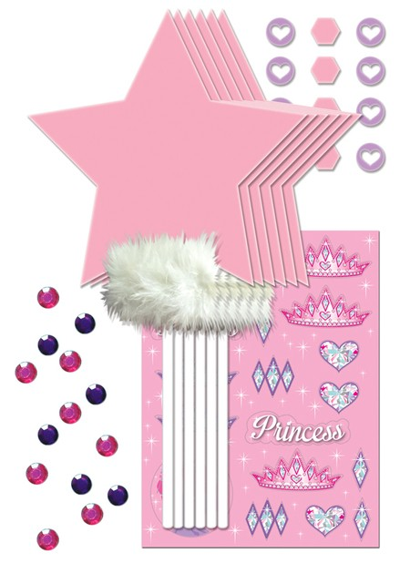 Princess Party Wand Decor Kit
