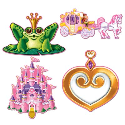 Princess Cutouts 12in
