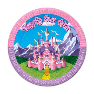 Princess Plates 9in