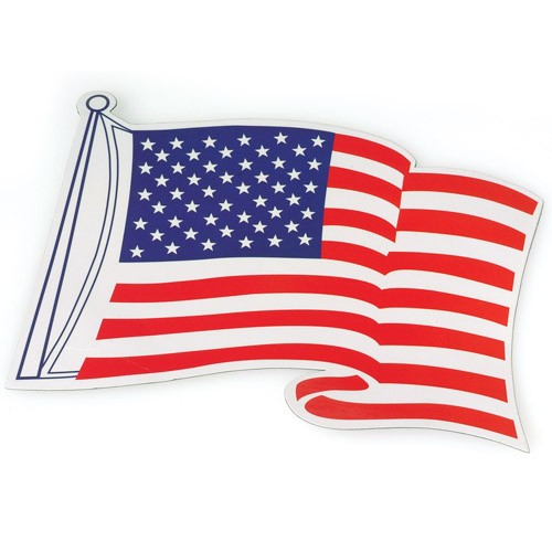 Patriotic American Flag Magnets