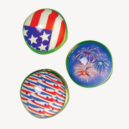 Patriotic Bouncy Balls