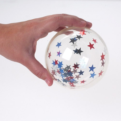 Stars Bouncy Ball