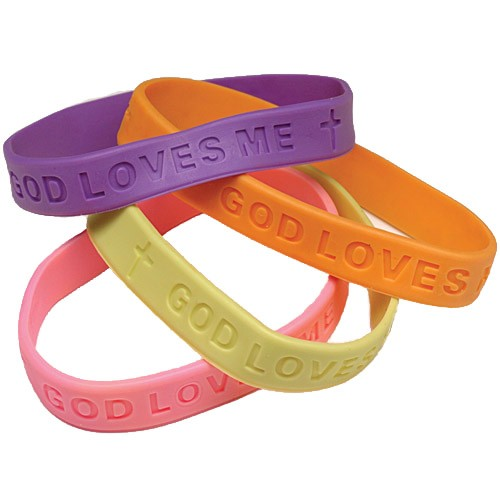 Inspirational Rubber Band Bracelets