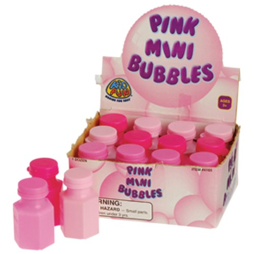 Pink Mini Bubbles