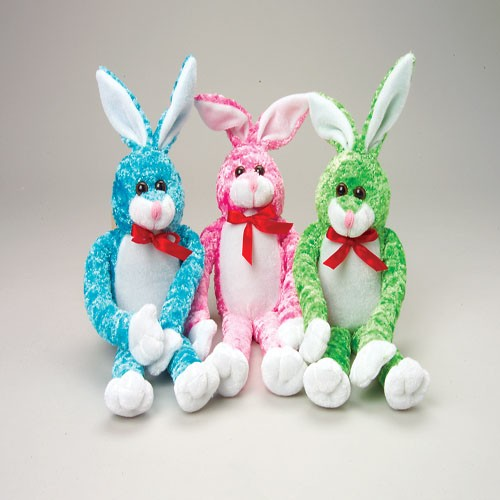 Red Ribbon Stuffed Bunnies