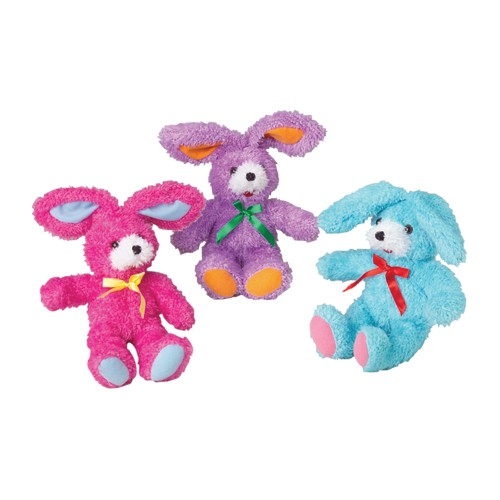 Fluffy Plush Ribbon Bunnies