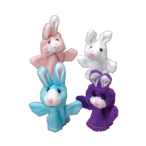 Easter Bunny Finger Puppets