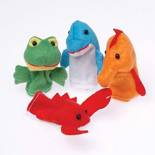 Aquatic Animals Finger Puppets