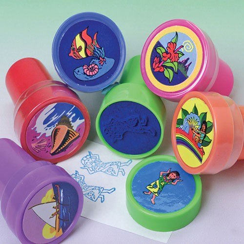 Luau Ink Stampers - 24 PIeces