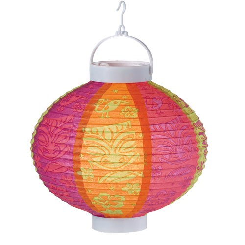 Light Up Luau Lantern