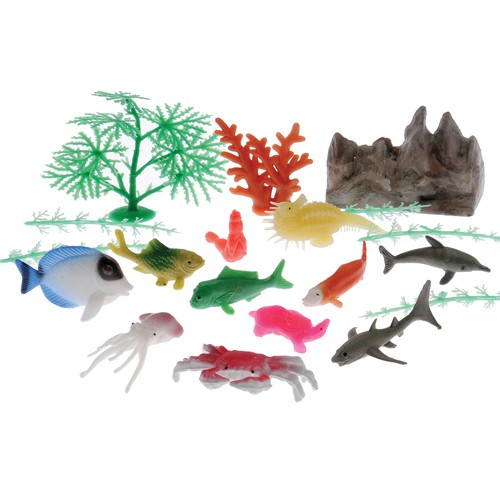 Ocean Animal & Plant Set 20-Pc