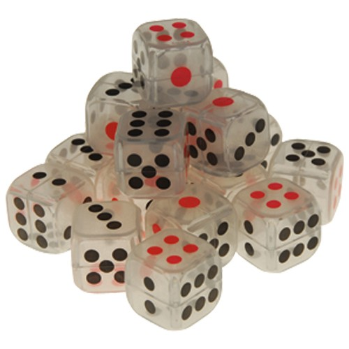 Glow In The Dark Dice1 Inch