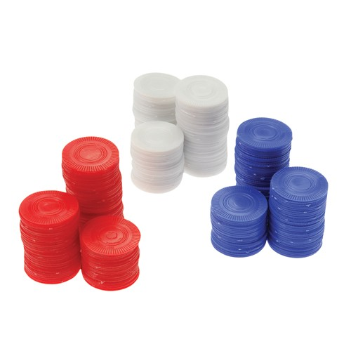 Red Poker Chips - 100ct