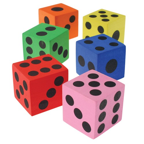 Foam Dice - 1.5in