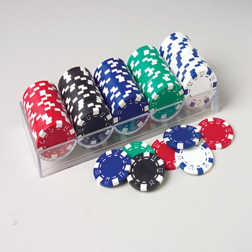 Deluxe Poker Chip Set - 100ct