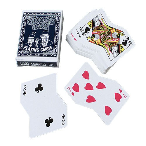 Crooked Playing Cards