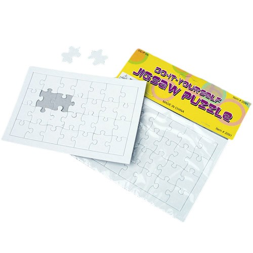 Blank Jigsaw Puzzles