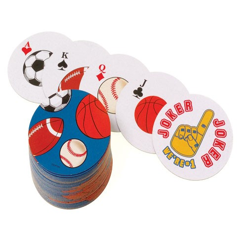 Sports Ball Playing Cards