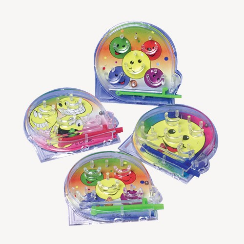 Mini Smiley Face Pinball Games