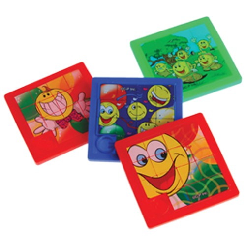 Smiley Face Slide Puzzles