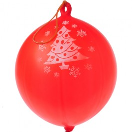 Christmas Tree Rubber Punch Balls