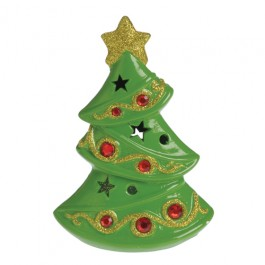 Light Up Ceramic Christmas Tree