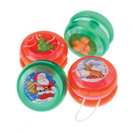 Mini Christmas Yo-Yos