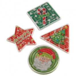 Christmas Maze Puzzles