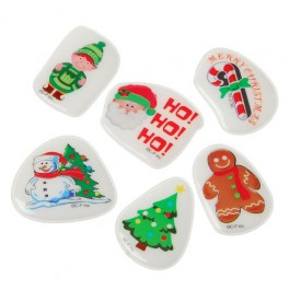 Christmas Puffy Stickers72-Pc