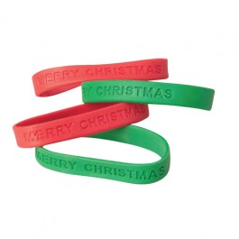 Christmas Rubber Band Bracelet