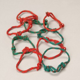Christmas Friendship Bracelets-48 Pieces