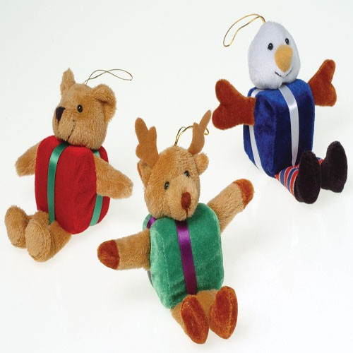 Plush Gift Belly Christmas Characters