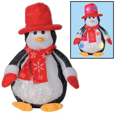 Light-Up Penguin 14in