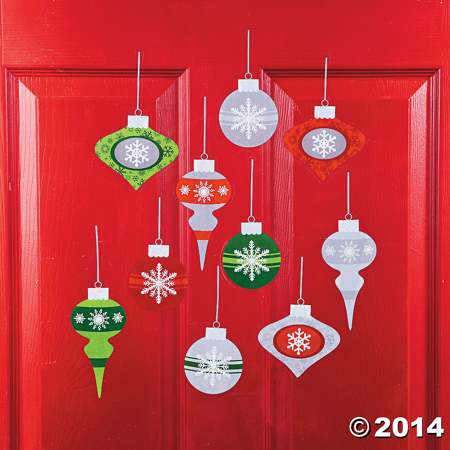 Ornament Wall Clings
