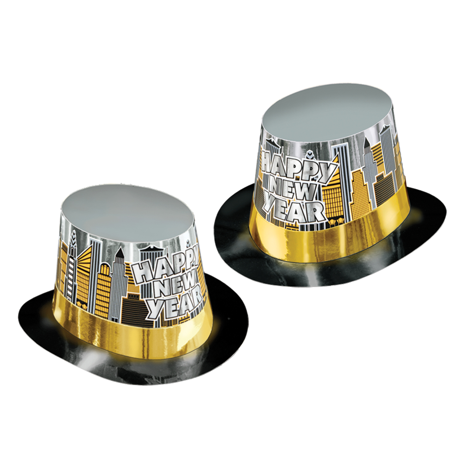 Toast Of The Town Hi-Hat black gold & silver