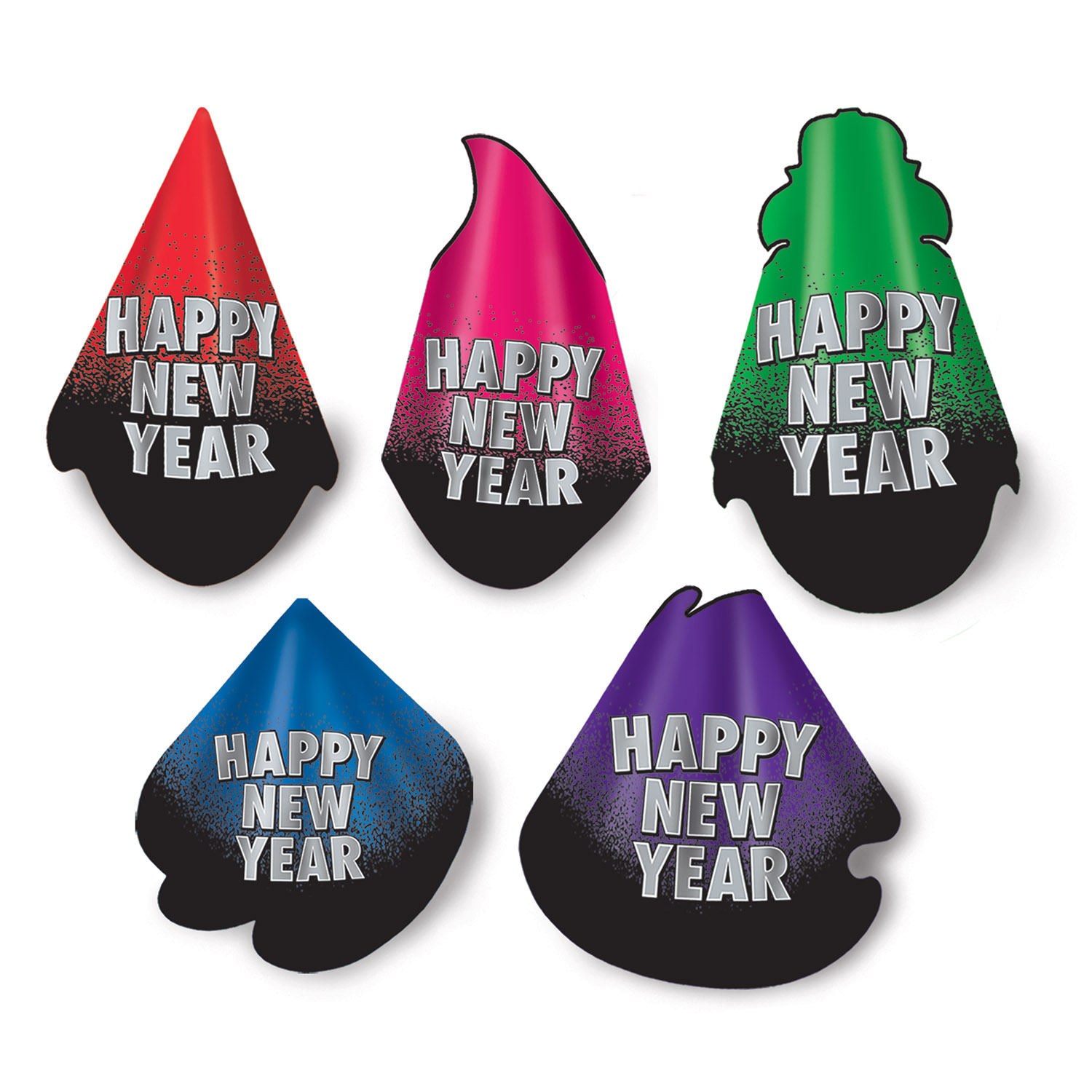 New Year Resolution Hat Assortment