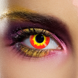 Crazy Halloween Contact Lenses - Minotaur
